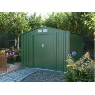 Kerti ház kerti tároló G21 GAH 580 - 251 x 231 cm-es kerti fém ház, zöld + AJÁNDÉK SZERSZÁMTARTÓ FOGAS