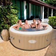 BESTWAY SPA POOL PALM SPRING pezsgőfürdő Fűthető, hordozható masszázsmedence (HMC 010)