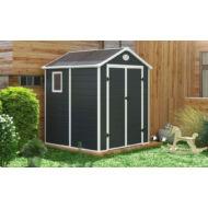 Yesway YW-357 - 188 x 190 cm, műanyag, szürke kerti ház