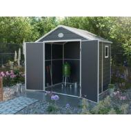 Yesway YW-458 - 241 x 190 cm, szürke, műanyag kerti ház