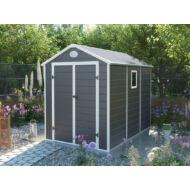 Yesway YW-523 - 188 x 278 cm, szürke, műanyag kerti ház