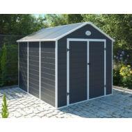 Yesway YW-670 - 241 x 278 cm, szürke, műanyag kerti ház