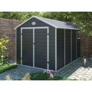 Yesway YW-882 - 241 x 366 cm, műanyag, szürke kerti ház