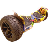 YESWAY Robot Hoverboard 8 inch X-Hover graffiti  bletooth + világítás