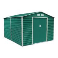 Kerti ház fém kerti tároló Yesway 1085 - 340 x 319 cm, zöld