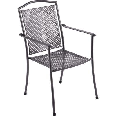 GARLAND/ROYAL GARDEN Domino steel szék 66,5 x 55,5 x 92,5 cm
