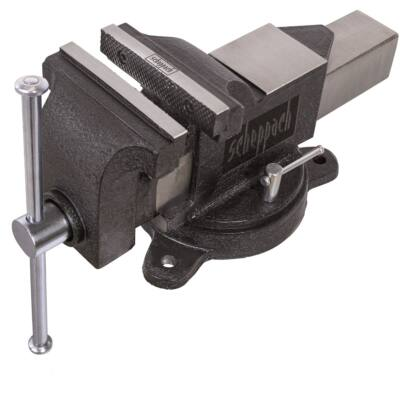 Scheppach VS 125 Uforgatható műhely satu üllővel 125 mm