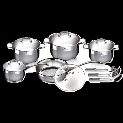 Blaumann Gourmet Line 13 részes rozsdamentes acél edénykészlet