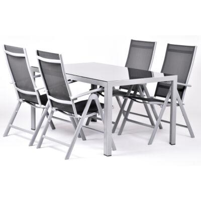Garland Elaina 4+ Aluminium bútorkészlet (1X Eliana asztal + 4X Eliana szék)