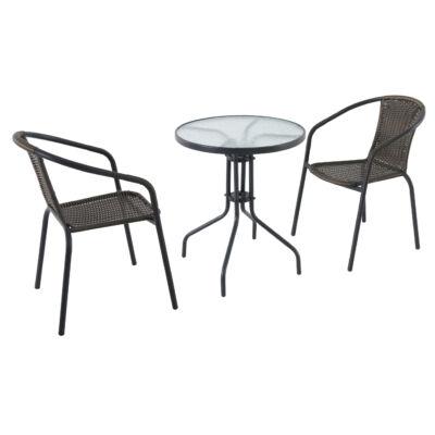 GARLAND/CREADOR Pikolo szett 1x asztal Pikolo Round + 2x szék Pikolo