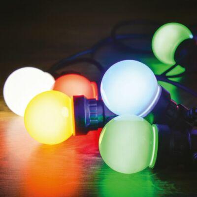 Dekortrend Kertiparti fénysor 5 opál égő RGB
