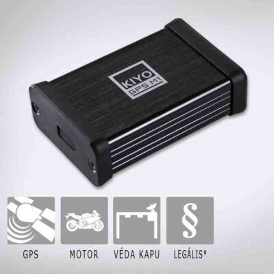 KIYO GPS M1 - telepített traffipax előrejelző motorokhoz