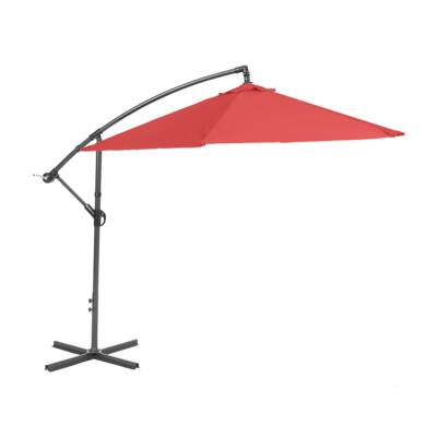 GARLAND/CREADOR Miami függő napernyő 2,7 m (modern piros)