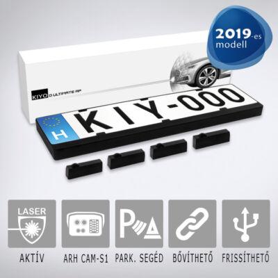 KIYO D Ultimate AP 4 - 4 db,   rendszámkeretbe építhető szenzort tartalmazó aktív lézeres jelzőkészülék