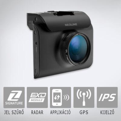 Neoline X-COP R750 - Menetrögzítő kamera és radardetektor, GPS adatbázissal