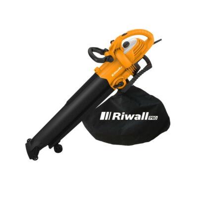 Riwall PRO REBV 3000elektromos lombszívó/lombfúvó 3000 W motorral