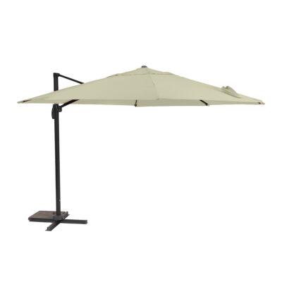 GARLAND/CREADOR Roma függő napernyő 3,5 m (természetes bézs)