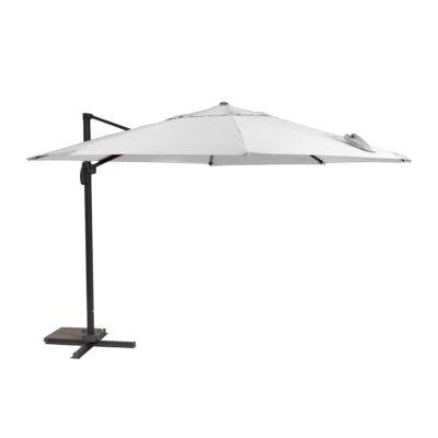 GARLAND/CREADOR Roma függő napernyő 3,5 m (elegáns szürke)