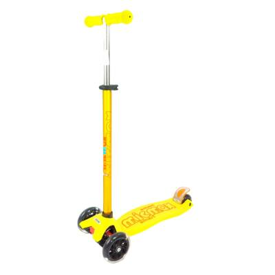 MICMAX Smart Háromkerekű világító maxi roller, sárga