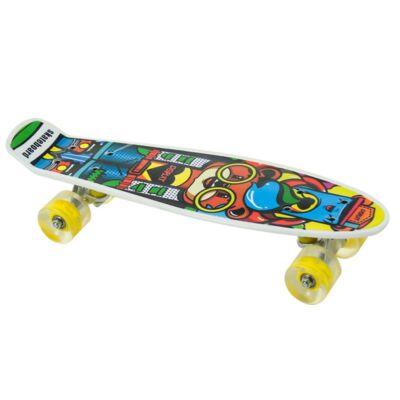 Penny board gördeszka, sárga