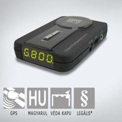 KIYO GPS U1 telepített traffipax előrejelző KY-GPS-U1