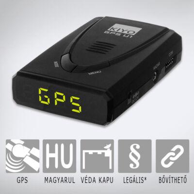 KIYO GPS U1 - telepített traffipax előrejelző