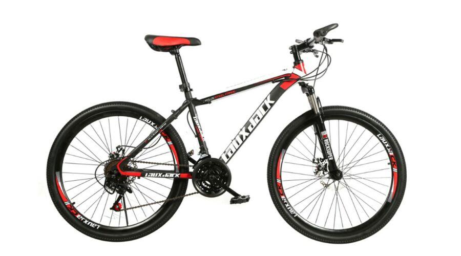 0052dd4e338f Laux Jack BLJ056 Mountain bike 26 21 sebességes kerékpár Fekete-piros